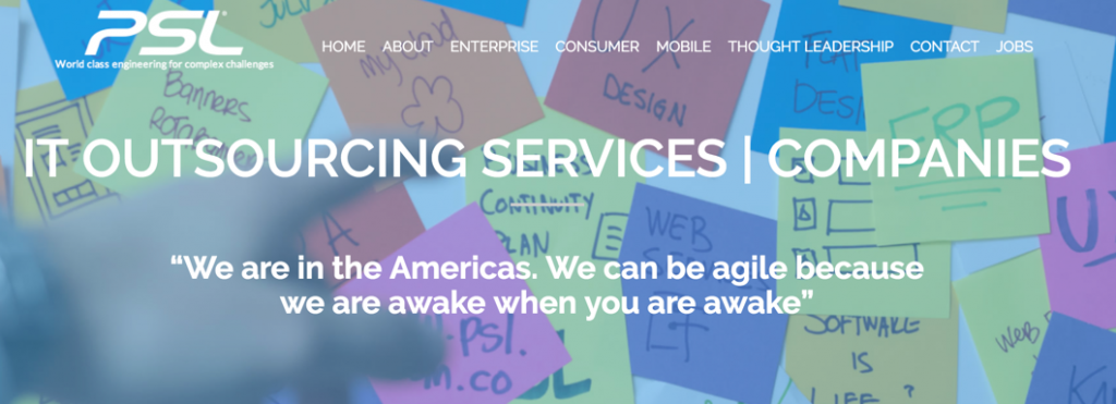 IT outsourcing - psl corp